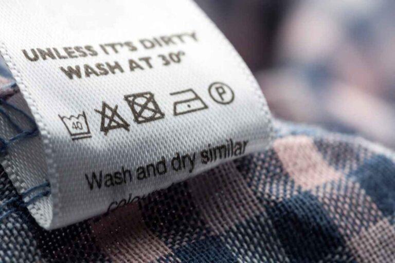 ¿Qué significan los símbolos de lavado en las etiquetas de lavado?