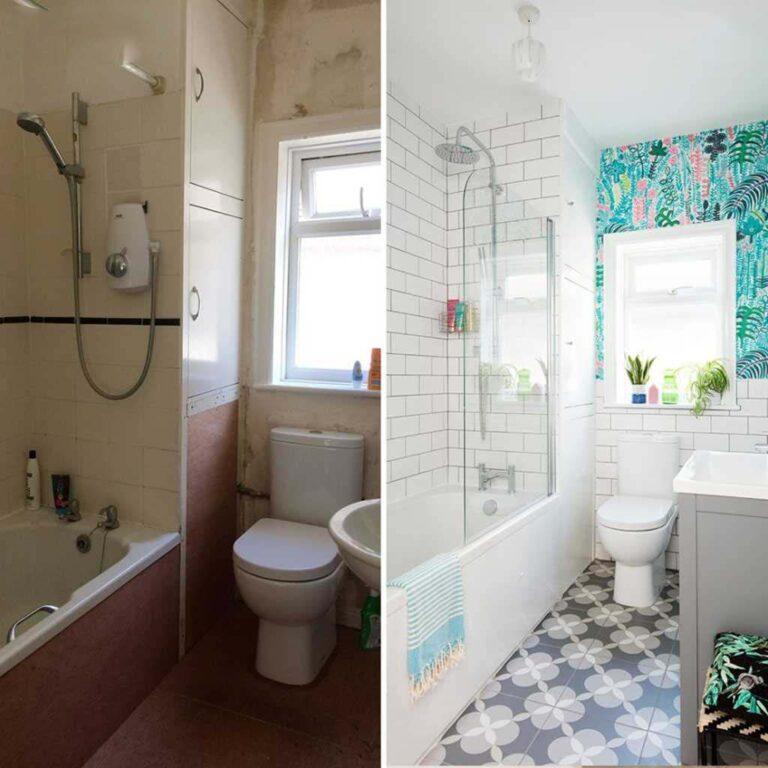 6 remodelaciones para el cuarto de baño que puedes lograr en un fin de semana